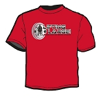 LiftingLarge Plate T-Shirt - Red