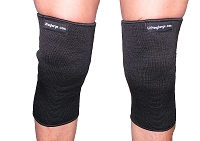 Black Crusher 3 ply Knee or Elbow Sleeves