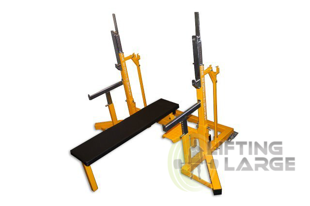 Er equipment ipf approved squat bench press rack for Inexpensive power rack