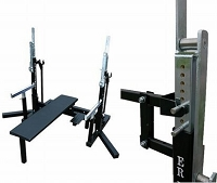 ER EQUIPMENT IPF APPROVED SQUAT & BENCH PRESS RACK