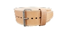 Naked Treated Leather Belt 6.5mm x 10cm