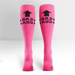 Women's Pink Bad Ass Socks
