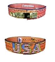 Omega Lever Bench Belt - Red Python