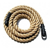 Manilla Climbing Rope with Eyelet 15 feet