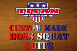 Boss Squat Suit Custom Built- Special Order