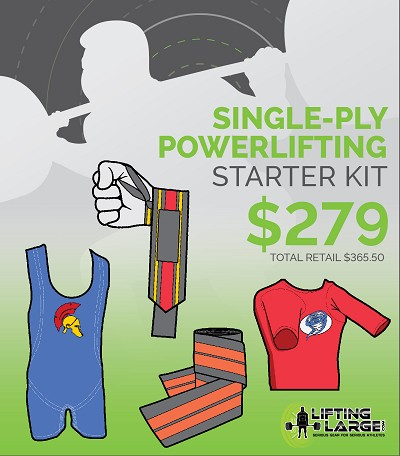 1 Ply Equipped Powerlifting Starter Kit