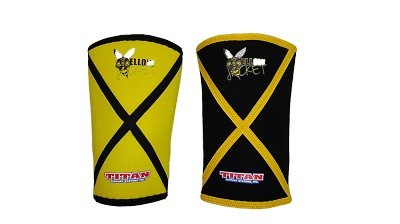 Titan Yellow Jacket Knee Sleeves - Original Version
