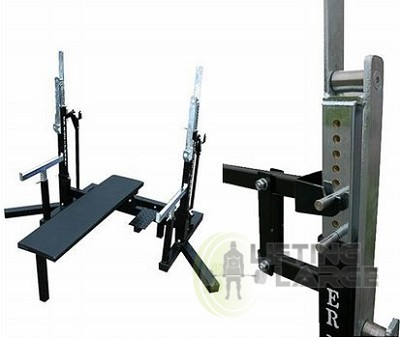 Er Equipment Ipf Approved Squat Bench Press Rack 10 001