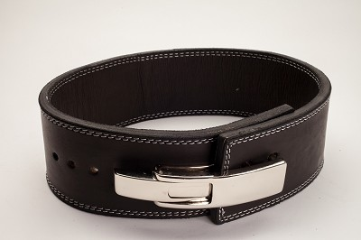 Polished Leather 13mm Lever Belt