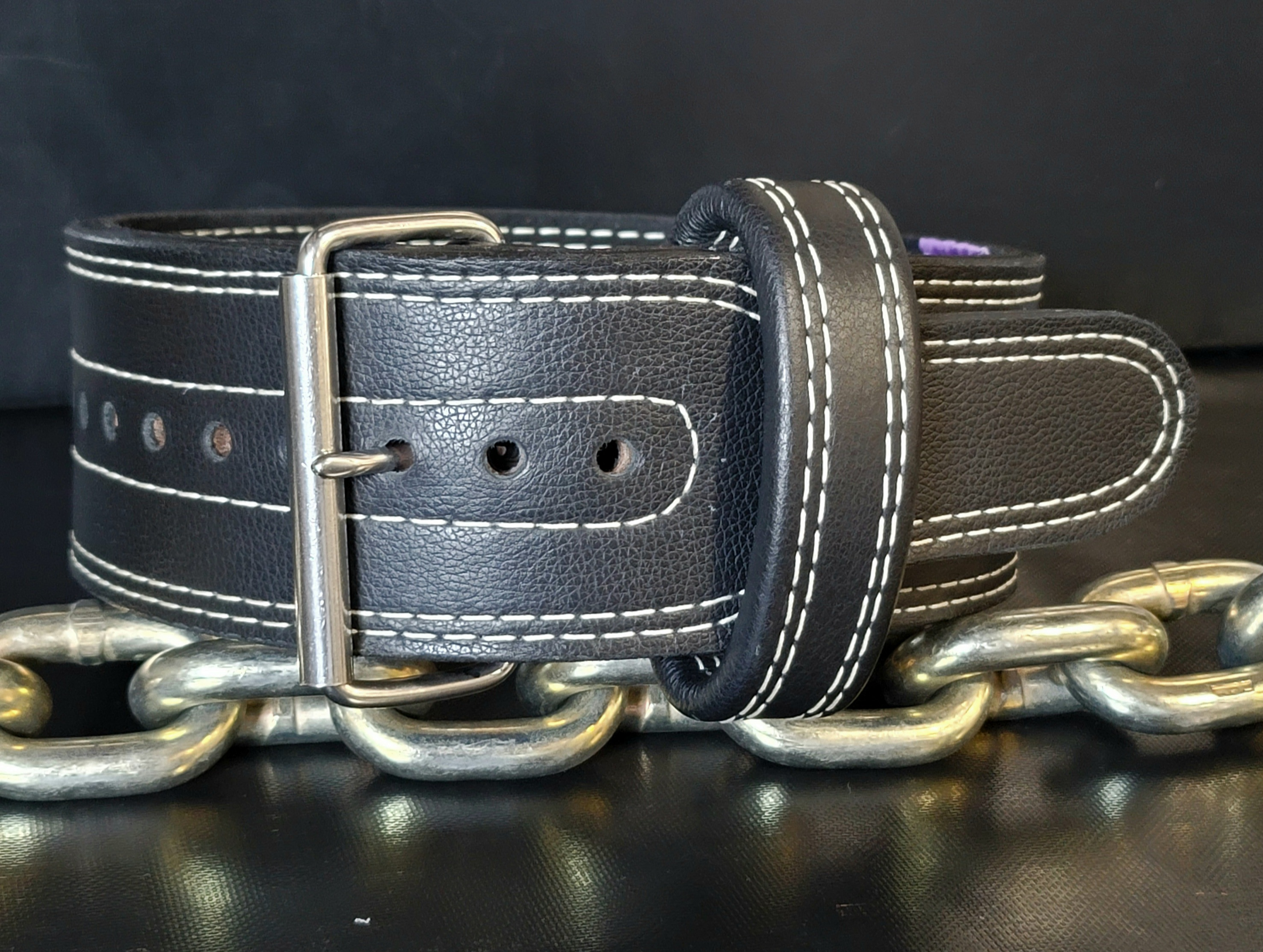Brahma Finished Leather Prong Belt - Special Purchase