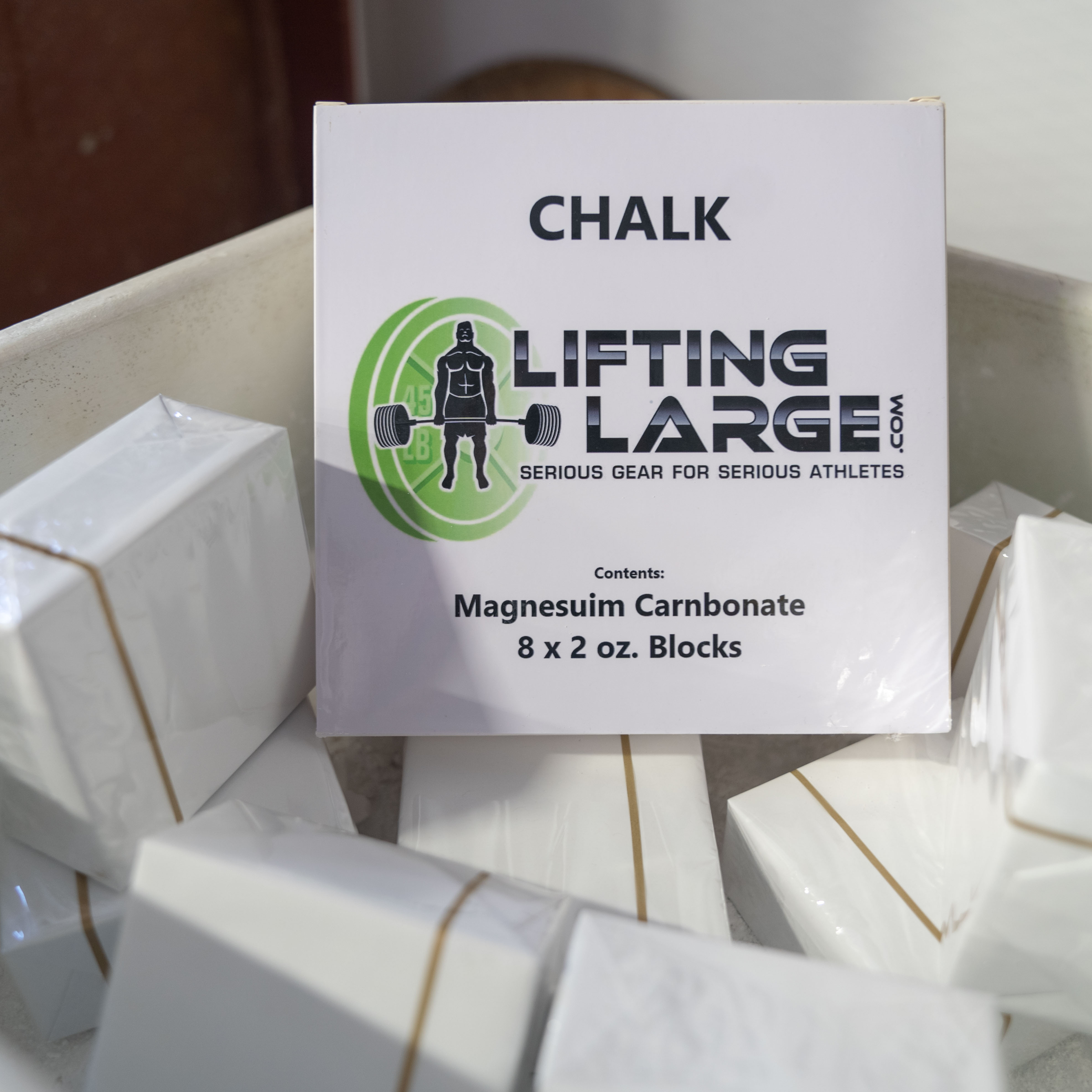 Lifting Large Chalk by the Box