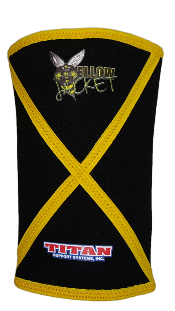 Titan Yellow Jacket Knee Sleeves - 3rd Generation