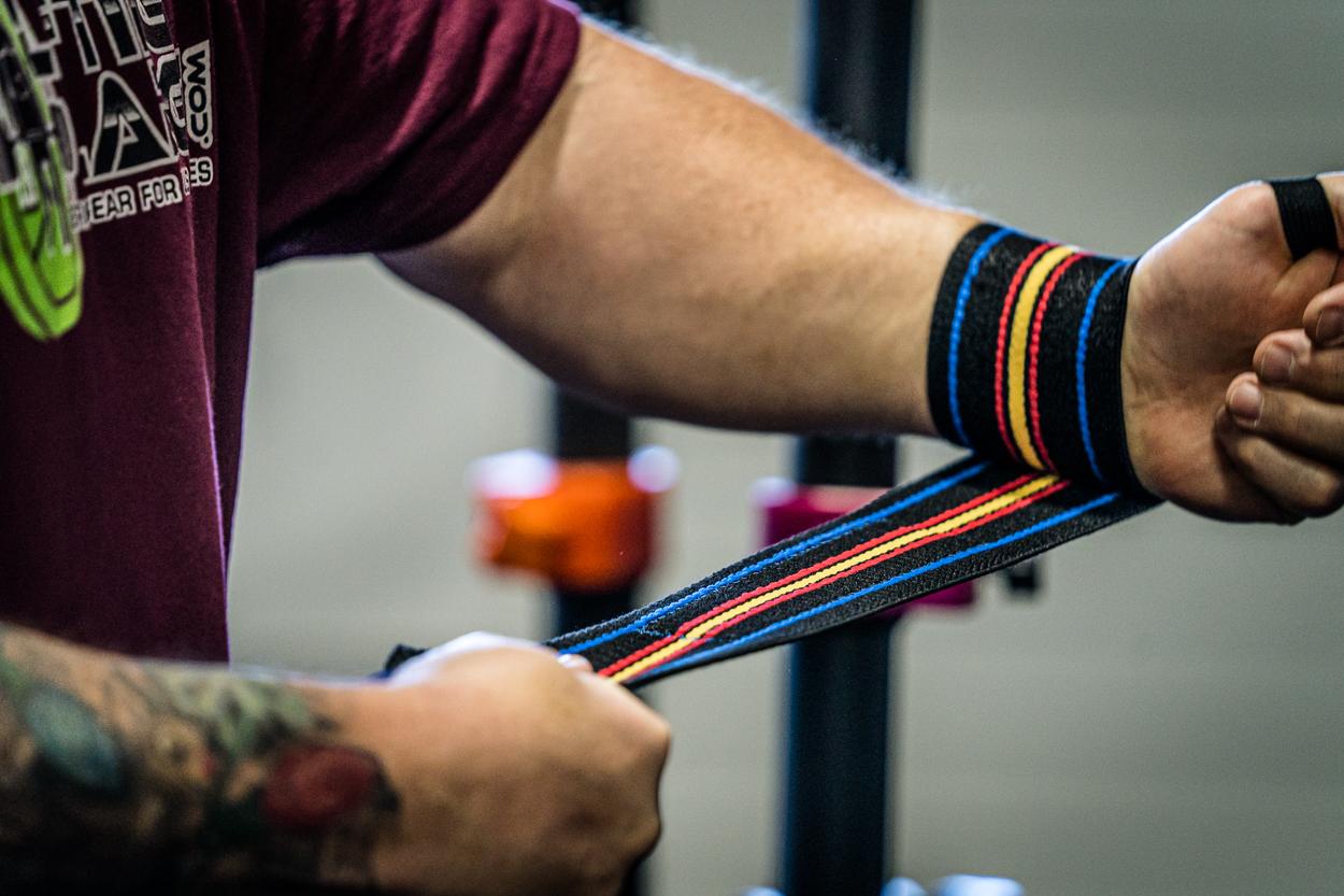 IPF Approved Titan Signature Gold Wrist Wraps