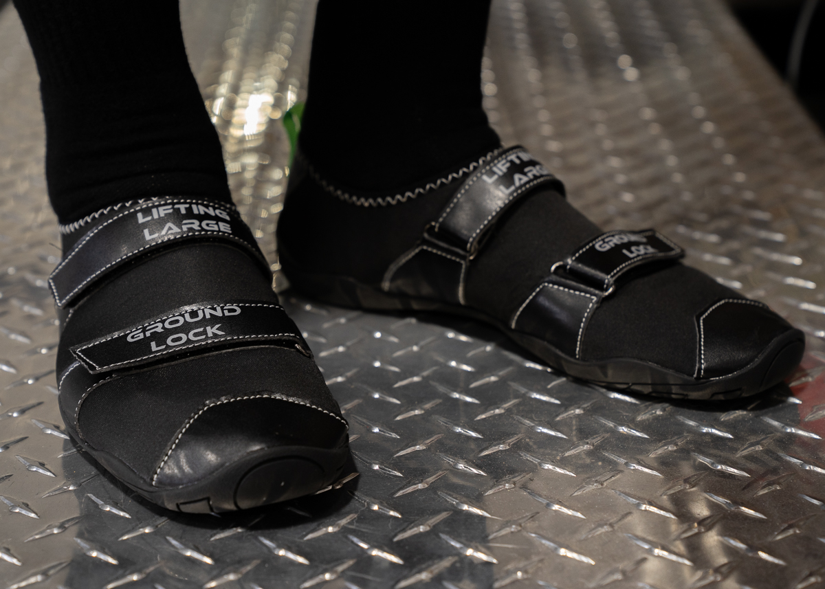 Ground Lock Deadlift Slippers - Black