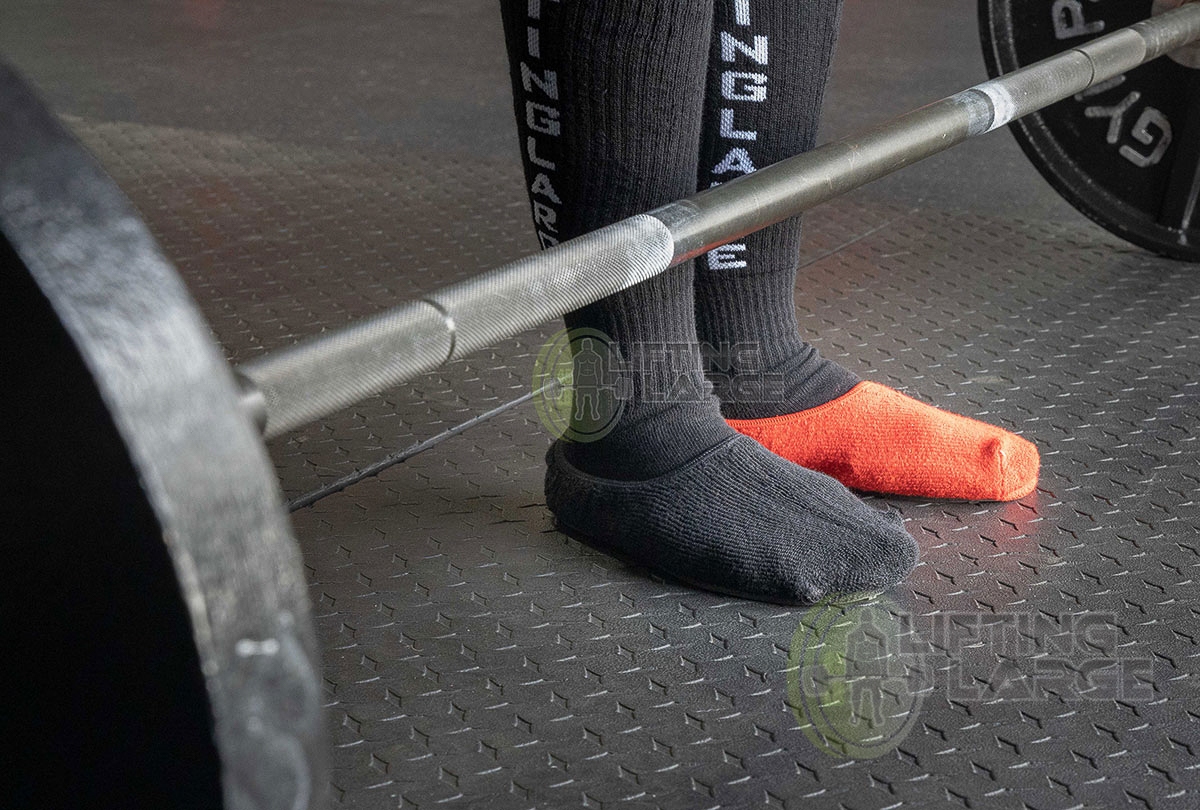 Lifting Large Deadlift Slippers