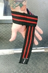 2 Inch Heavy Duty Lifting Straps Black/Red
