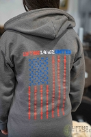 United Zippered Hooded Sweatshirt