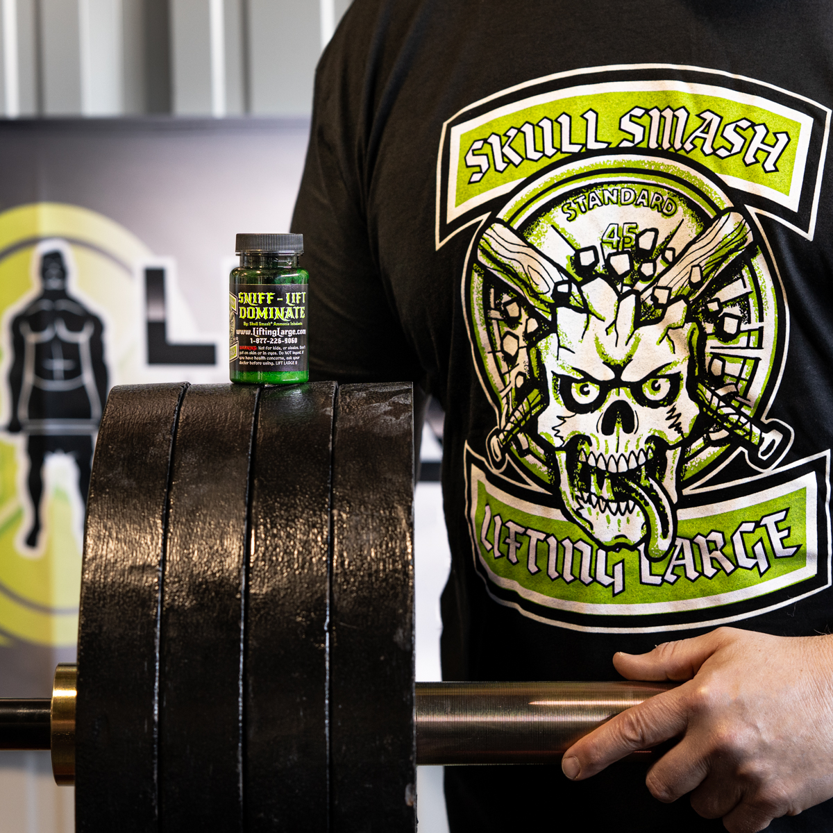 Skull Smash T-shirt and Inhalant Combo Pack