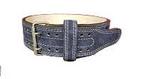 Brahma 13mm Navy Suede 2 Prong Belt