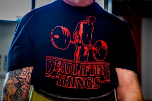 Deadlifting Things Shirt
