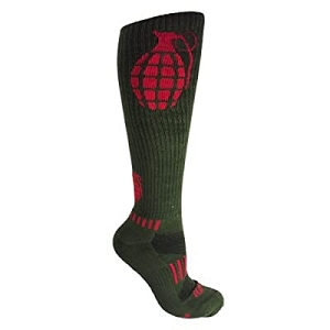 Moxy Grenade Knee High Deadlift Socks - Army Green