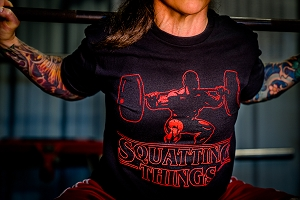 Squatting Things Shirt