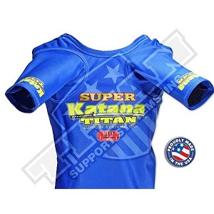 Titan Super Katana A/S Bench Press Shirt - Angled Sleeve