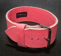 Economy Single Prong Pink Belt