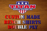 2 Ply Bench Shirts Custom Made