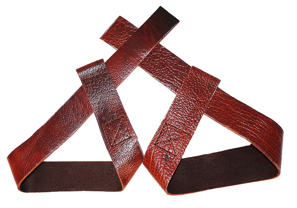 Kodiak Leather Lifting Straps