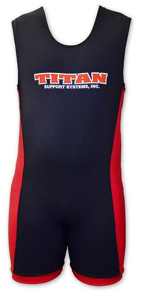 Triumph Singlet  Black with Red Sides