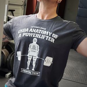 USDA Deadlifting Reality T-shirt