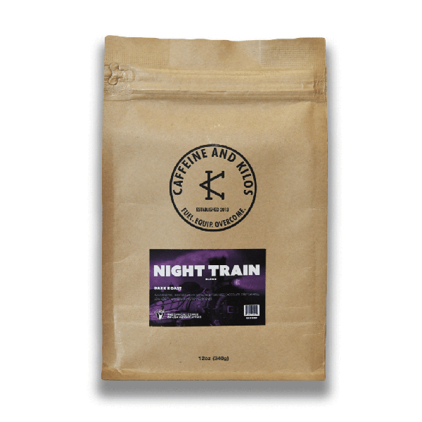 Caffeine and Kilos Coffee Night Train