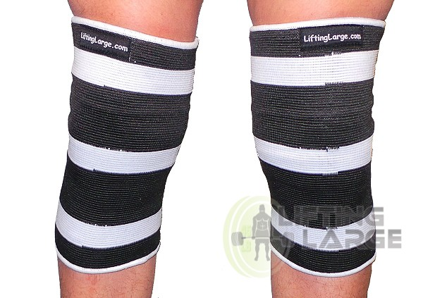 White Crusher 1 ply Knee or Elbow Sleeves