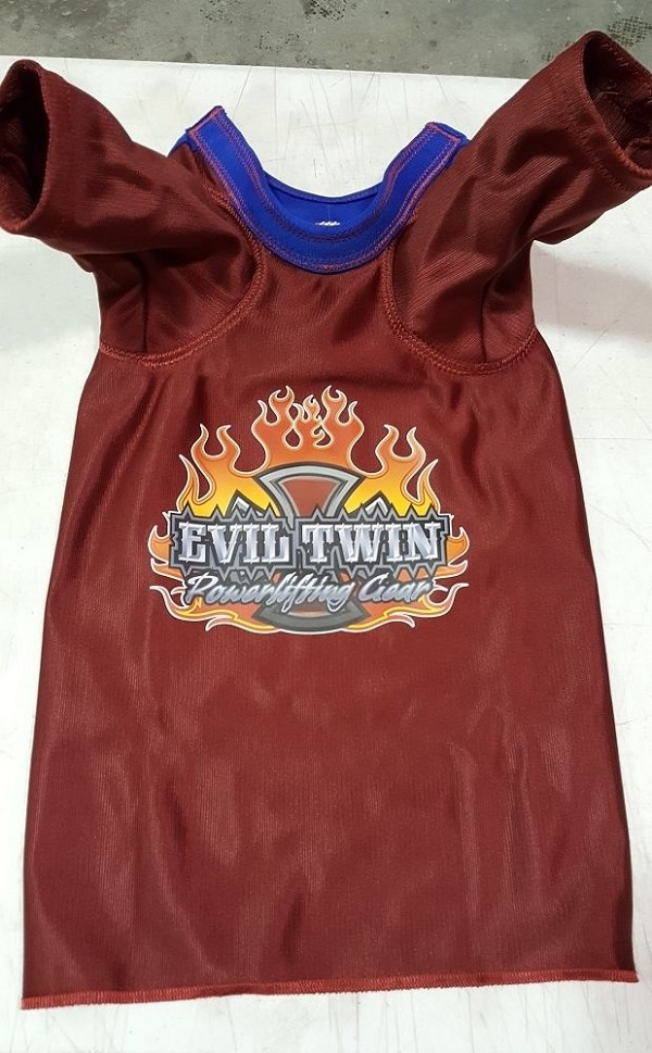 Titan Evil Twin Psycho Bench Shirt 2 Ply