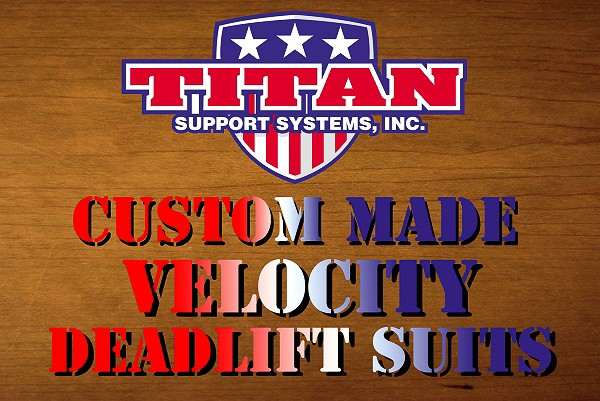 Custom Velocity Deadlift Suit